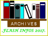 ARCHIVES FLASH INFOS 2017